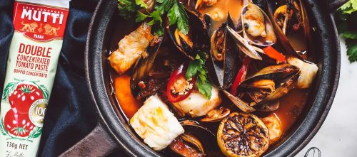Seafood Stew with tomato