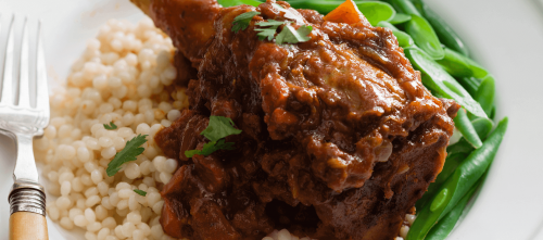 Moroccan lamb shanks recipe