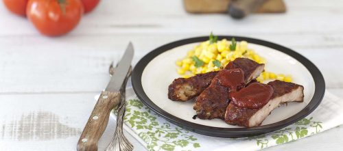Ribs sauce Barbecue maison