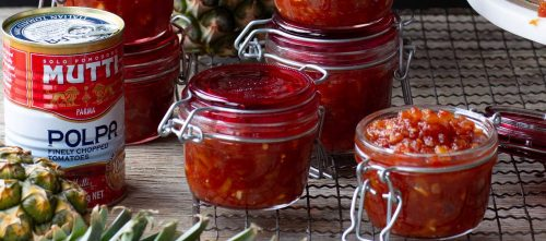 Sweet and Spicy Pineapple & Tomato Relish